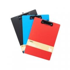 晨光便携式A4竖式板夹夹板文件夹 ADM95107PP发泡   颜色随机   XH.656