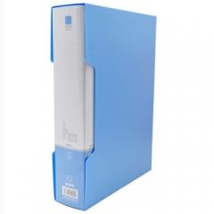 晨光(M&G)  ADM95101文件夹资料册PP材料多页A4文件册蓝色 新锐派100页/本      XH.659