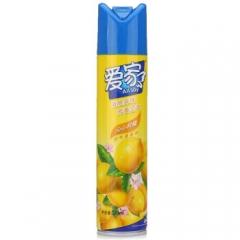 爱家 空气清新剂 柠檬香 320ml  12瓶/箱  QJ.198