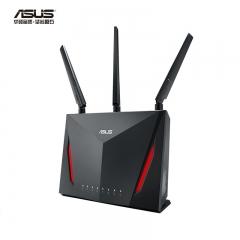 华硕(ASUS)RT-AC86U 无线路由器 2900M双频全千兆低辐射/MU-MIMO高速路由/支持AiMesh   WL.323