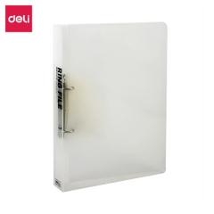 得力(deli) 5381 A4D型二孔透明文件夹 半透明色 单只装    XH.672