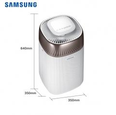 三星(SAMSUNG)空气净化器离子除菌 除花粉异味 KJ350F-M3035WM 奢享金   DQ.1309