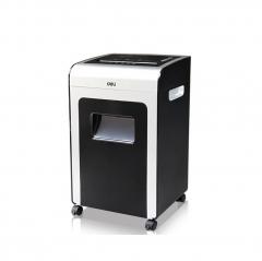 得力 (deli)9913多功能商务办公碎纸机 空气净化 4级保密 黑色  IT.569