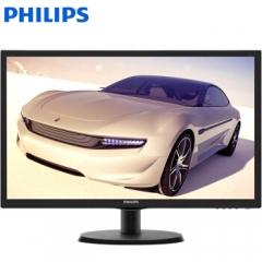 飞利浦(PHILIPS) 223V5L 21.5英寸液晶显示器 双接口 办公组装电脑显示屏 223V5LSB(黑色) PC.1816