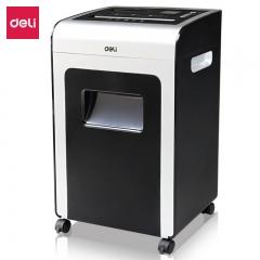 得力(deli)空气净化多功能办公商用碎纸机 31L大容量 4级保密文件粉碎机9917  IT.573