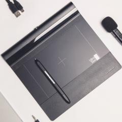 汉王(Hanvon)Q先锋+语音版 手写板 写字板 语音输入手写板 人手写板 电脑写字板 PJ.348