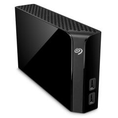 希捷(Seagate)4T USB3.0扩展(USB Hub)桌面硬盘 Backup Plus Hub 睿品 3.5英寸 黑色(STEL4000300)   PJ.359