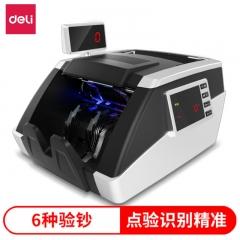 得力(deli)3912银行专用双屏验钞机 自动清洁点钞机(B级)  IT.608
