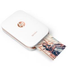 惠普(HP)小印Sprocket 100(白) 手机口袋照片打印机  蓝牙连接  DY.262