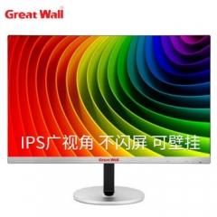 长城(Great Wall)24英寸 24AL75  三边窄边框冠捷品质可壁挂广视角不闪屏台式电脑显示器 PC.1666