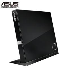 华硕(ASUS) 6倍速 USB2.0 外置蓝光 光驱刻录机 黑色(兼容苹果系统/SBW-06D2X-U)   PJ.388