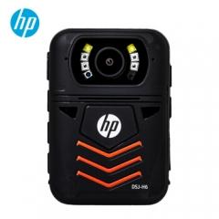 惠普(HP)DSJ-H6执法记录仪安霸A12芯片1440P高清现场记录仪行车记录仪 128G 官方标配 ZX.286