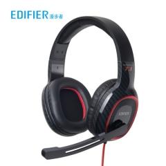 漫步者(EDIFIER) HECATE G20 USB7.1声道 头戴式耳机带线控 音乐教育办公学习电脑耳麦 经典版黑色      PJ.404