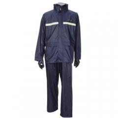 天堂 双层夜光型雨衣套装N211-7AX藏青色XL JC.792