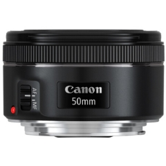 佳能(Canon)EF 50mm f/1.8 STM 标准定焦镜头 ZX.290