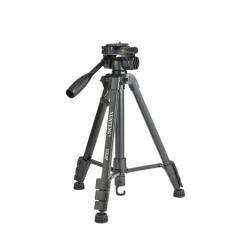 云腾VCT-668三脚架横竖拍单反微单手机通用稳定便携自拍直播录像铝合金三角架佳能尼康索尼富士相机支架 ZX.299