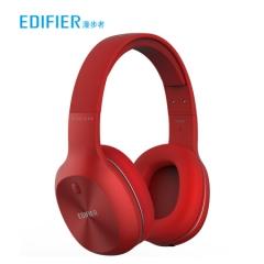漫步者(EDIFIER)W800BT 头戴式立体声蓝牙耳机 无线耳机 音乐耳机 手机耳机 通用苹果华为小米手机 烈焰红    HC.413