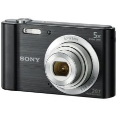 索尼(SONY) DSC-W800 便携数码相机/照相机/卡片机 黑色(约2010万像素 5倍光学变焦 2.7英寸屏 26mm广角) ZX.306