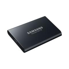 三星(SAMSUNG) 1TB Type-c USB3.1 移动硬盘 固态(PSSD)T5 玄英黑 最大传输速度540MB/s 安全便携   PJ.433