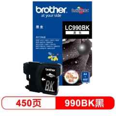 兄弟(brother) LC990BK 黑色墨盒(适用DCP-145C/165C/385C/MFC-250C/290C/490CW/790CW/5490CN)  HC.901