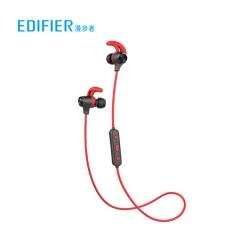 漫步者(EDIFIER)W280BT 磁吸入耳式 无线运动蓝牙线控耳机 手机耳机 音乐耳机 可通话 超长续航 红色   PJ.436