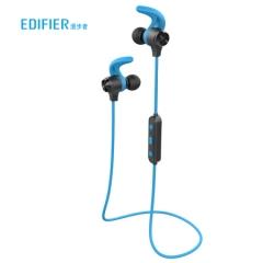 漫步者(EDIFIER)W280BT 磁吸入耳式 无线运动蓝牙线控耳机 手机耳机 音乐耳机 可通话 超长续航 蓝色   PJ.437