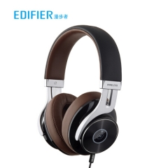 漫步者(EDIFIER)W855BT 立体声头戴式蓝牙耳机 音乐耳机 无线通话 通用苹果华为小米手机 爵士黑   PJ.440