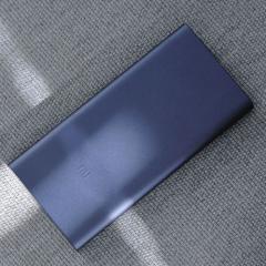 小米(MI) 10000毫安 新移动电源2 /充电宝 双向快充 超薄小巧便携 黑色(新版)可刻字    PJ.438