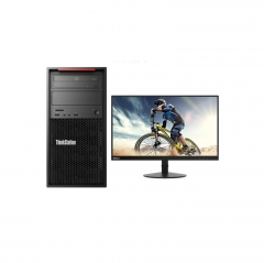 联想(Lenovo)塔式工作站  P520W-21254核/16G/256G+2T SAS/RAMBO/DOS/P20005G独显/23.8寸显示器/3年保修  WL.387