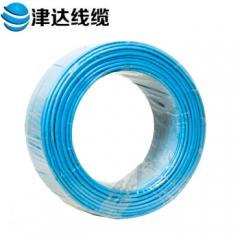 津达线缆 电线 国标多股股铜芯绝缘电线 BVR10 100米/盘(BVR10平方蓝色) JC.806