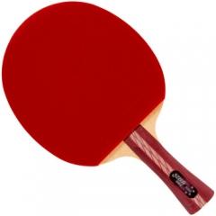 红双喜DHS乒乓球拍 横拍双面反胶弧圈结合快攻4星R4002(单块装)   TY.1239