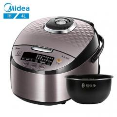 美的(Midea)IH智能电饭煲 预约大火力加热4L家用电饭锅MB-HF40C1 CF.067