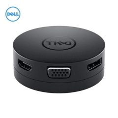 戴尔(DELL)DA300 移动转换适配器六合一 USB-C转DP/VGA/HDMI/USB-A/以太网/USB-C   PJ.445
