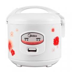 美的(Midea)机械式 老人家用 电饭煲 5L大容量电饭锅 3-4-6-8人 MB-YJ508J 白色 CF.067