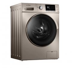 美的(Midea)MG80-1431DG  滚筒洗衣机 摩卡金   DQ.1338