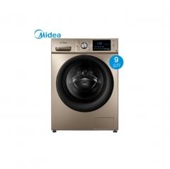 美的(Midea)MG90-1453DG 9公斤全自动变频滚筒洗衣机  DQ.1340