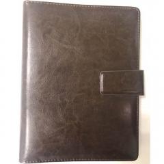 伟业一选 可定制 活页皮面笔记本B5   约90页 棕色  BG.310