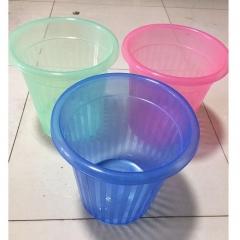 塑料透明垃圾桶 27cm 直径   QJ.220