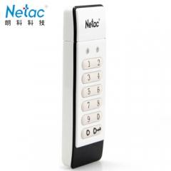 朗科(Netac)加密u盘 密码优盘朗科U618数字按键硬件加密U盘 容量32GU618数字按键硬件加密U盘 容量32G    PJ.452