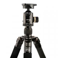 沣标捕捉者S-324C+S-Q44专业单反相机三脚架套装 适用于佳能 5D4 6D2 索尼 A7R3 沣标捕捉者S-324C专业三脚架  ZX.312