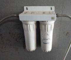 普莱顿 净水设备 白色两桶滤芯更换25.5cm*6cm   DQ.1373