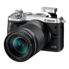 佳能(Canon)EOS M6(18-150镜头) 银色微单电可换镜相机(大变焦一镜走天下 触控翻转LCD)Vlog视频拍摄 ZX.325