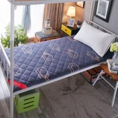 南极人(NanJiren)床褥 加厚榻榻米床垫子 0.9米床单人宿舍学生床褥子海绵垫被 90*200cm  BC.069