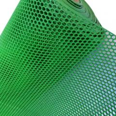 PVC内六角防滑垫耐磨 可裁剪地毯浴室防水毯镂空地毯 绿色 宽120cm  BC.072