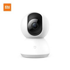 小米米家(MIJIA)智能摄像机云台版白色1080P家用监控高清360度红外夜视增强移动监测   PJ.477
