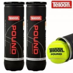 Teloon天龙网球 比赛训练网球POUND  P4高弹耐磨 冲击波P4  4粒/桶   TY.1263