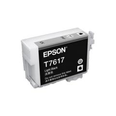 爱普生(EPSON)T7617墨盒 淡黑色 (适用P608机器)   HC.956