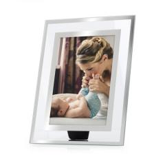 亮丽(SPLENDID)相框 摆台 梦幻 7英寸创意玻璃相片框  BG.326