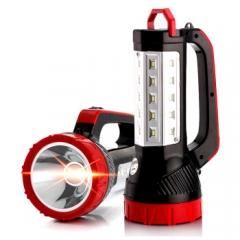 康铭(KANGMING)LED充电手提灯多功能户外露营应急灯远程照明手电KM-2651N JC.862
