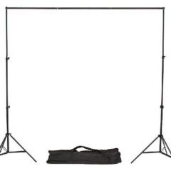 贝阳(beiyang)2*2米背景架横杆摄影背景架 背景布套装拍照背景纸支架龙门架摄影棚拍照相器材配件辅助支架 ZX.332